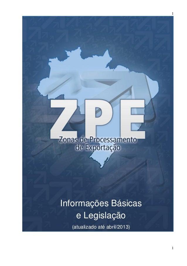 1 1 Informações Básicas e Legislação (atualizado até abril/2013)