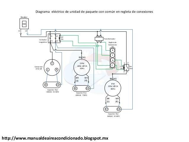 diagrama electrico aire acondicionado trifasico  aire acondicionado nissan sentra  diagramas de