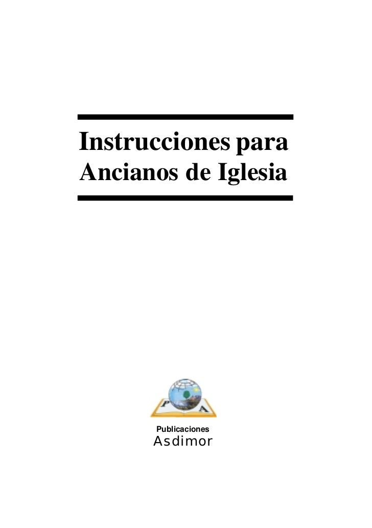 Manual de ancianos iglesia