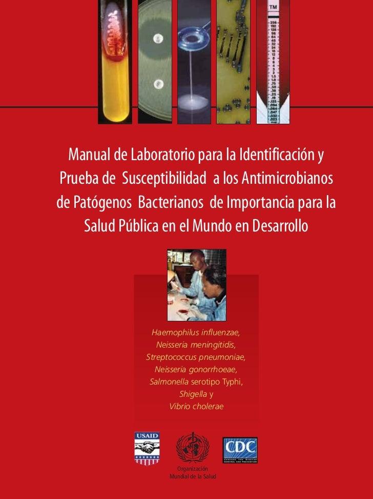 CDC covers/Spanish   10/09/04   8:54   Page 3                Manual de Laboratorio para la Identificación y              P...
