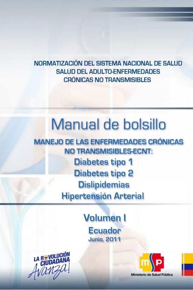 Manual de bolsillo del manejo de las enfermedades crónicas no transmisibles del adulto