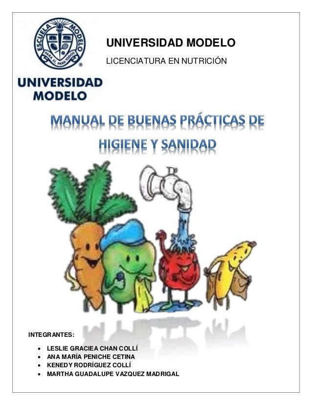 Manual de buenas practicas de higiene y sanidad for Manual de buenas practicas de higiene y manipulacion de alimentos