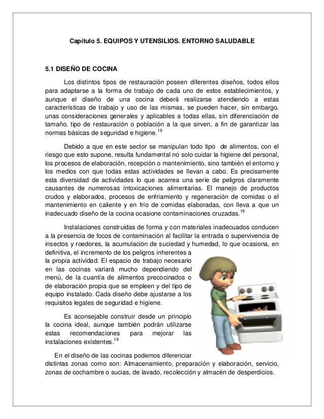 Manual de buenas practicas de higiene y sanidad for Equipo manual de cocina
