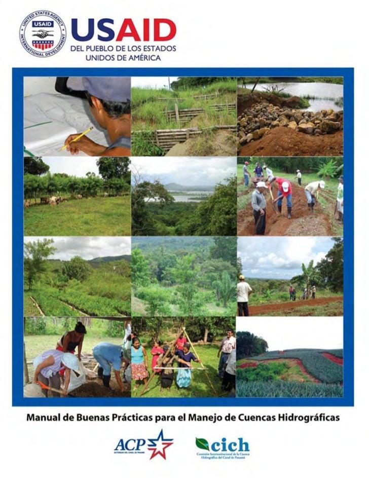 Manual de Buenas Prácticas para el Manejo de           Cuencas Hidrográficas           Elaborado por: Naira A. Camacho    ...