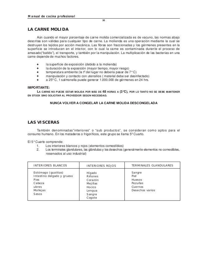 manual de cocina profesional On organizacion de una cocina profesional pdf