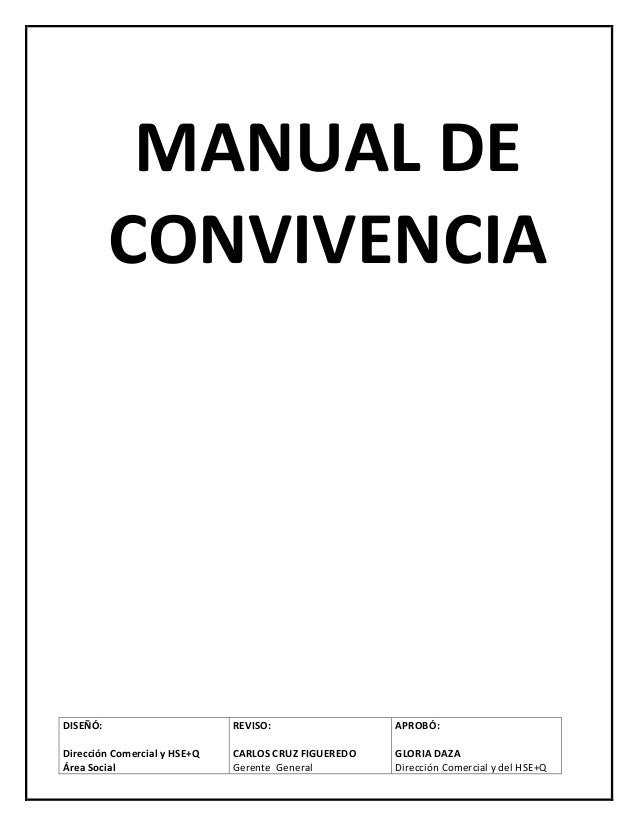 Manual de convivencia lg v0