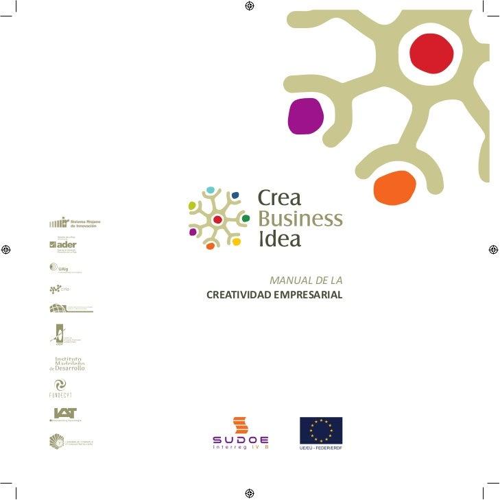 Manual de creatividad empresarial