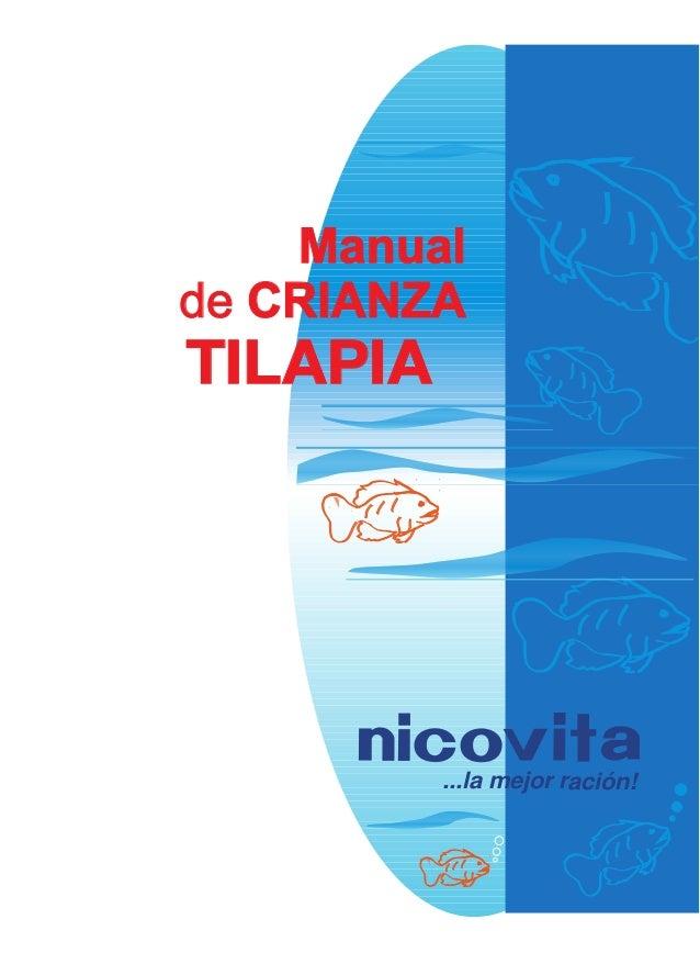 Manual de CRIANZA  TILAPIA  ...la mejor ración!