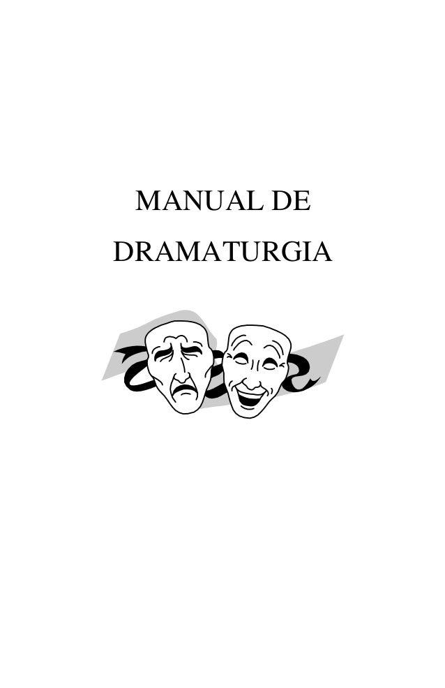 MANUAL DEDRAMATURGIA