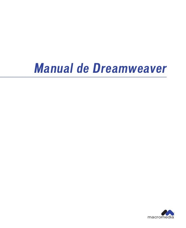Manual de dreamweaver