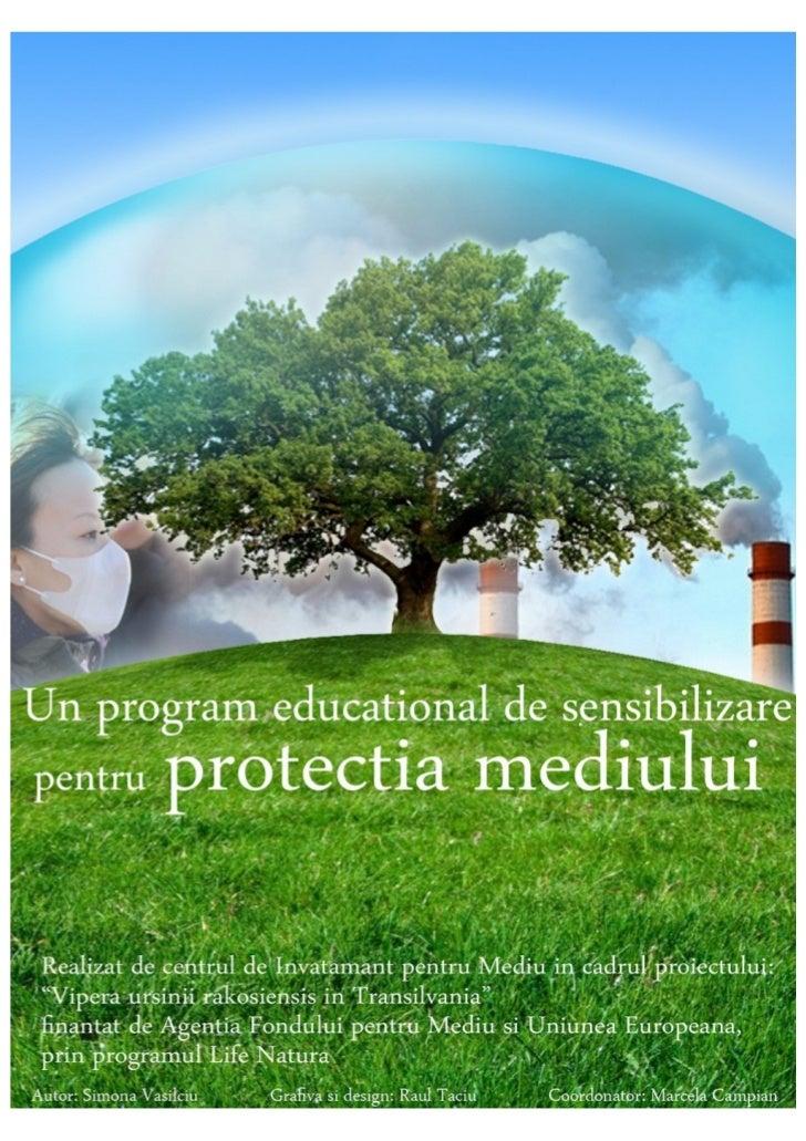Manual de ecologie