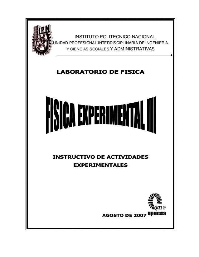 Manual de electromgnetismo laboratorio upiicsa for Manual de viveros forestales pdf