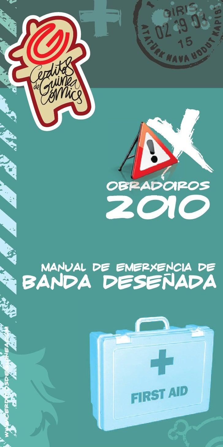 obradoiros                                      2010                             manual de emerxencia de                  ...