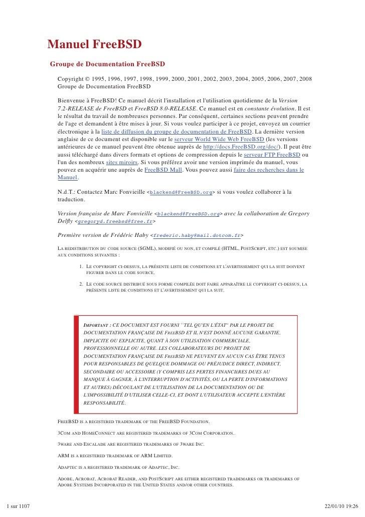 Manual de free bsd