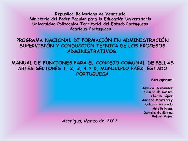 Republica Bolivariana de Venezuela      Ministerio del Poder Popular para la Educación Universitaria       Universidad Pol...