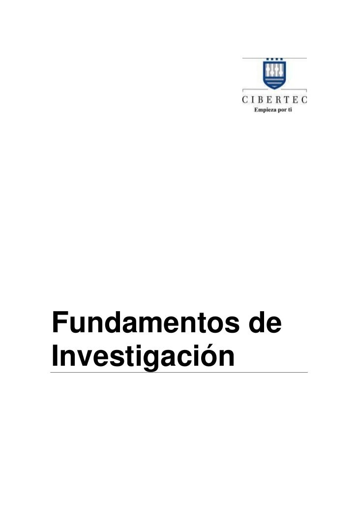 Manual de fundamentos de investigación 2012 i
