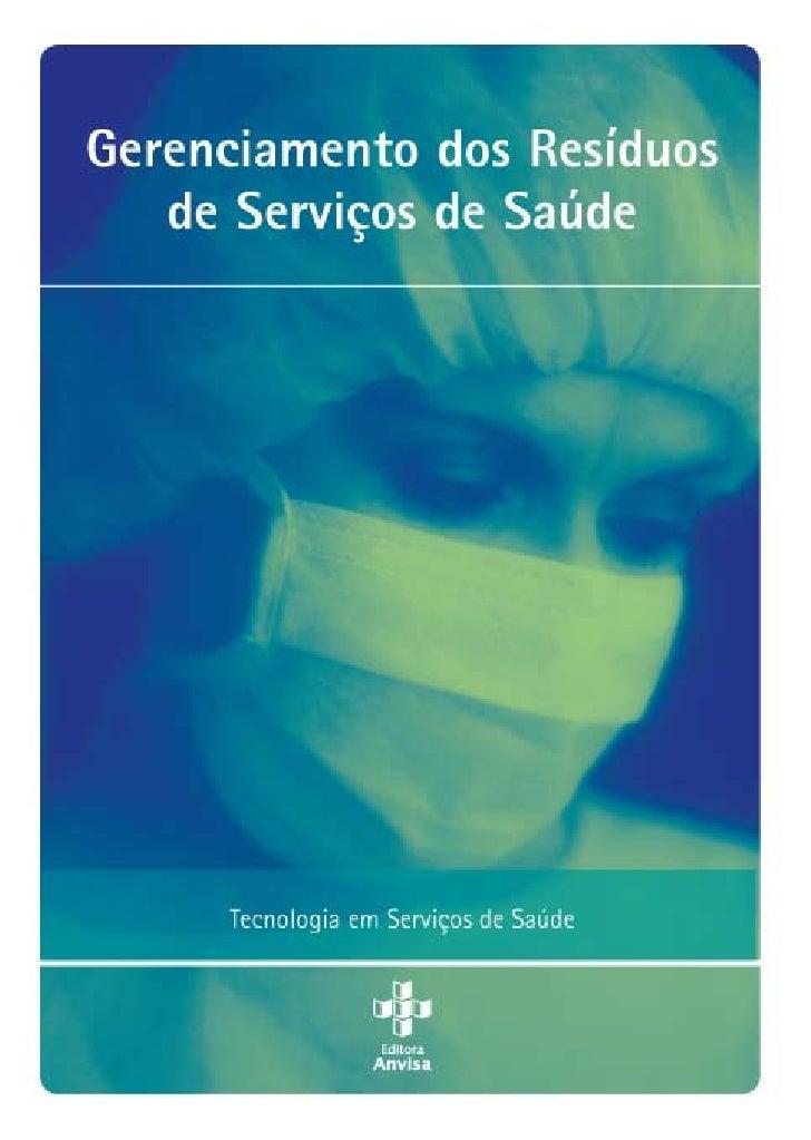 Manual de gerenciamento de resíduos de serviços de saúde