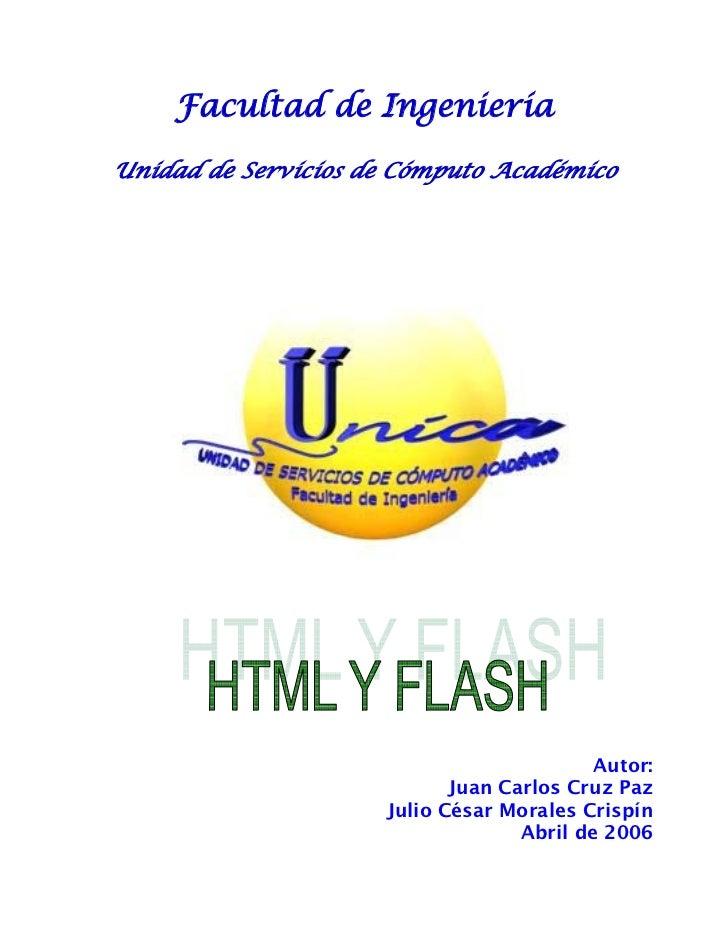 Manual de html y flash mx