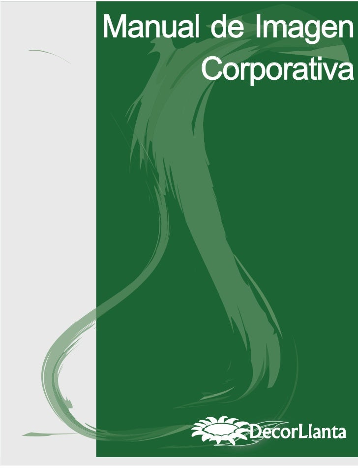 Manual de identidad corporativa Decorllanta