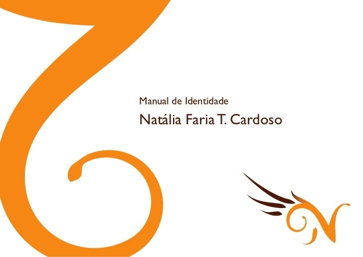 Manual de identidade Natália Design