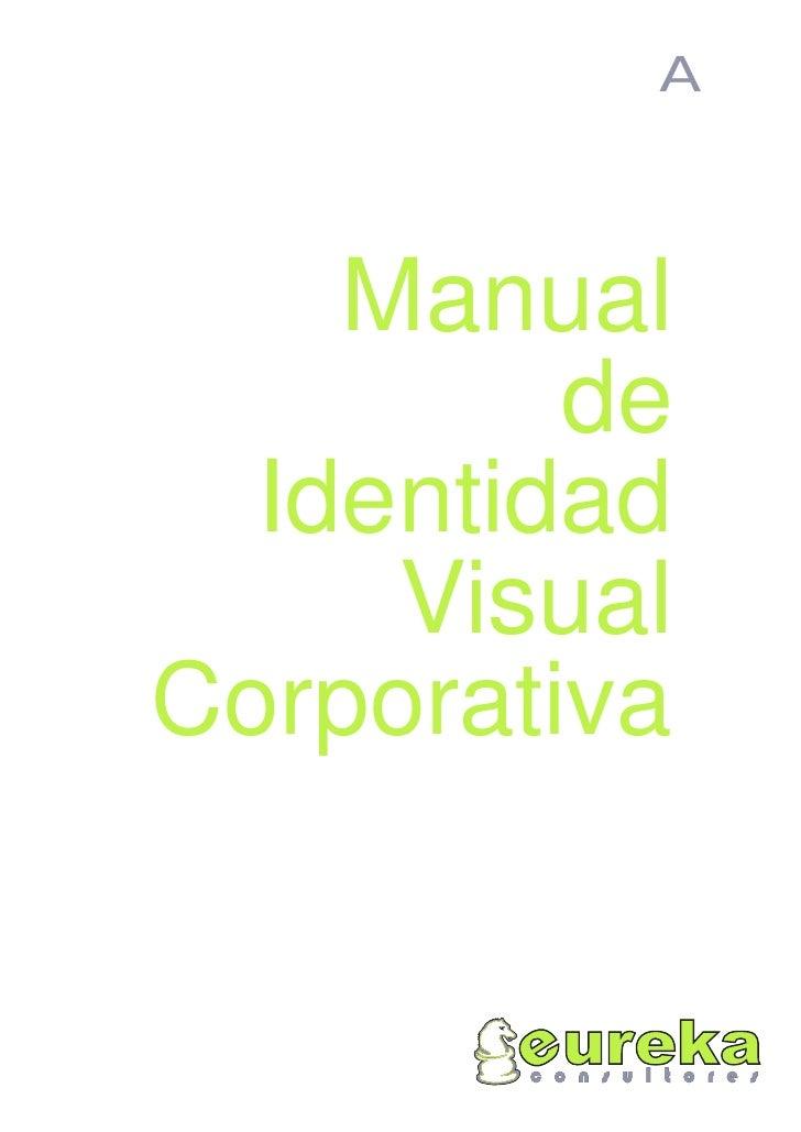 ejemplo manual imagen corporativo: