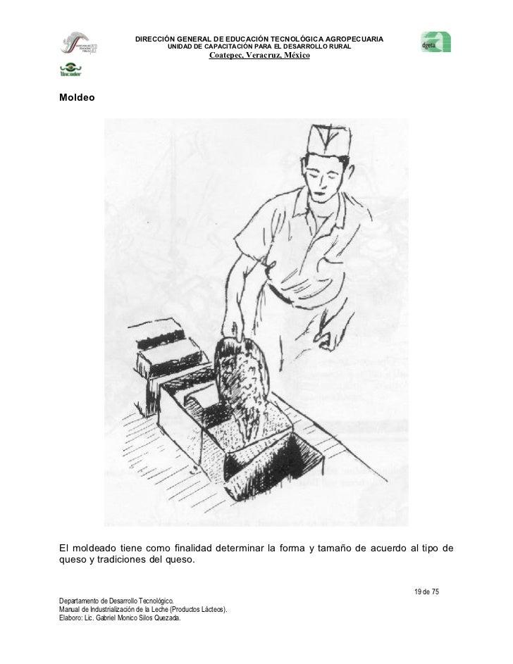 Manual de industrialización de la leche (productos lácteos