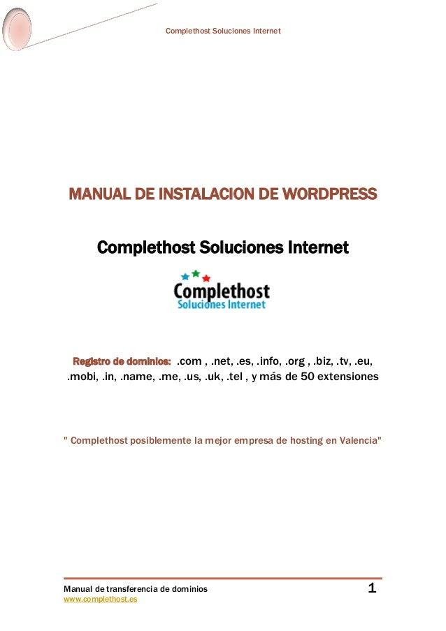 Manualdeinstalacciondewordpress 101107030734-phpapp01