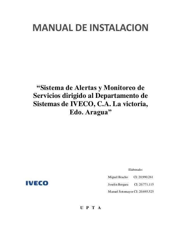 Manual de InstalacióN IVECO