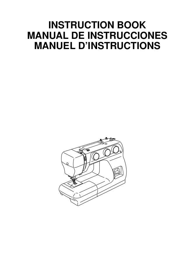 Manual De Instrucciones Maquina De Coser Lidl : Pursued
