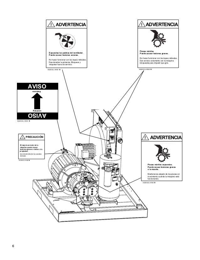 Manual de operador Ingersoll Rand