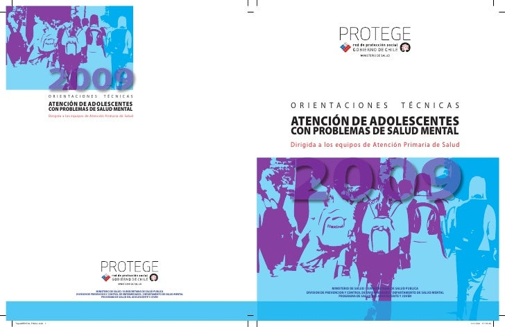 O R I E N TA C I O N E S             T É C N I C A S                          ATENCIÓN DE ADOLESCENTES                    ...