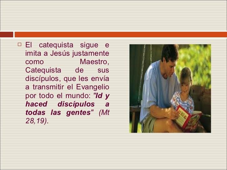 Manual del catequista for Exterior no es la voz es clamor desde el alma