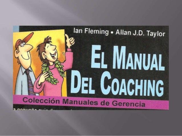Manual del coaching