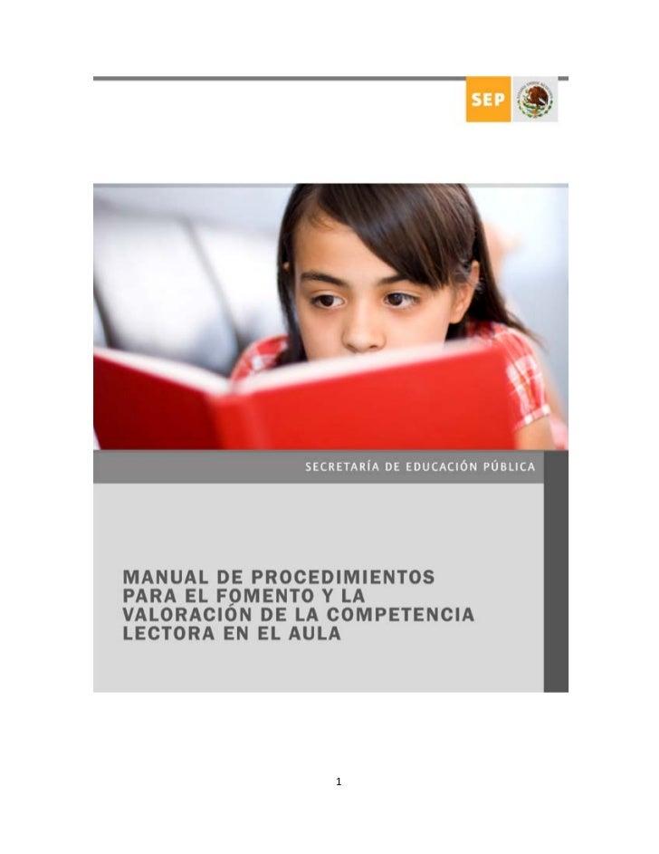Manual de lectura