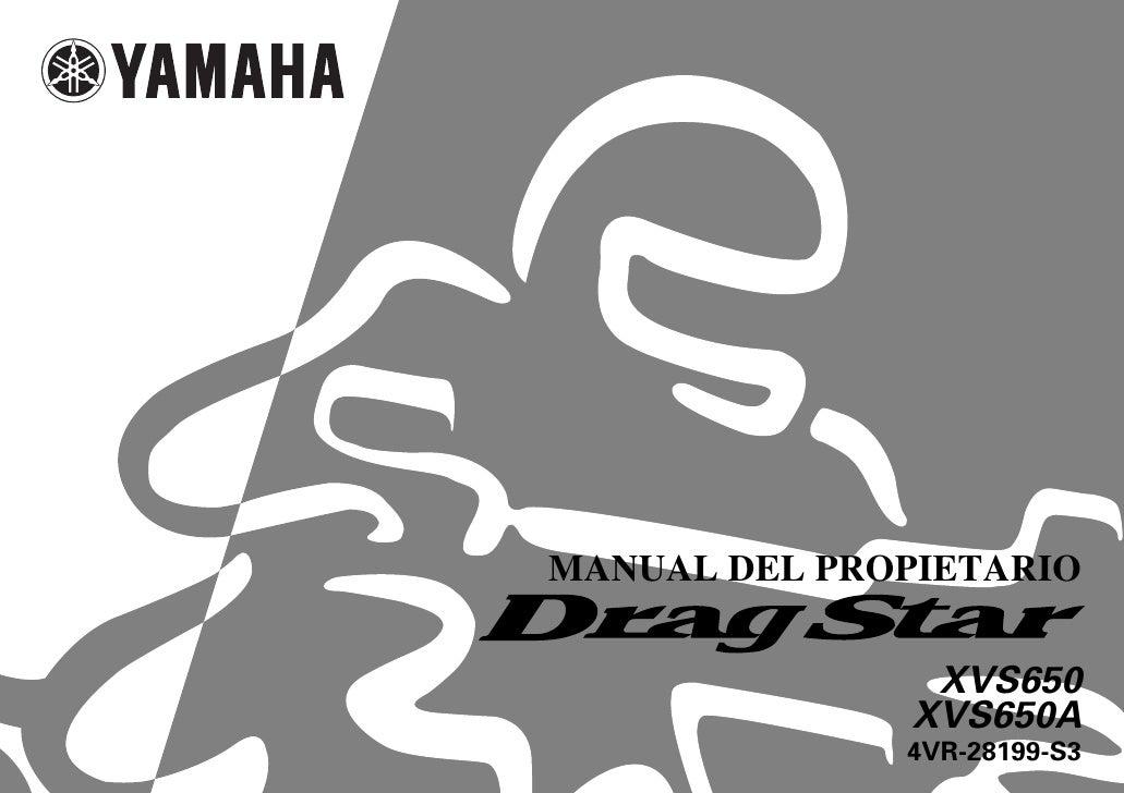 Manual del propietario yamaha 650 v star