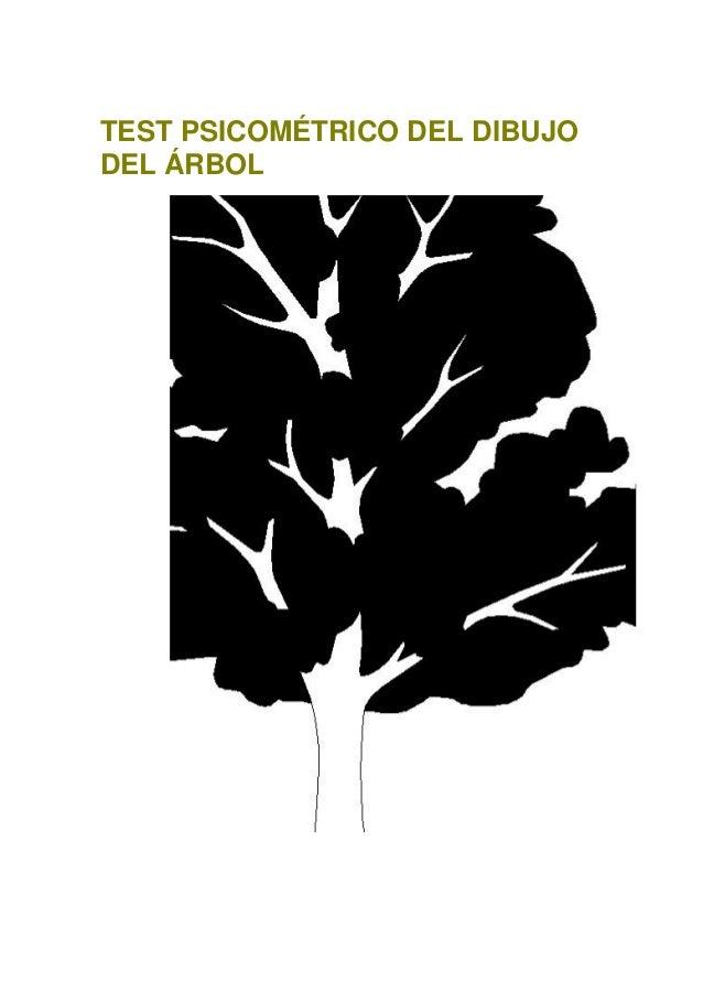 TEST PSICOMÉTRICO DEL DIBUJO DEL ÁRBOL