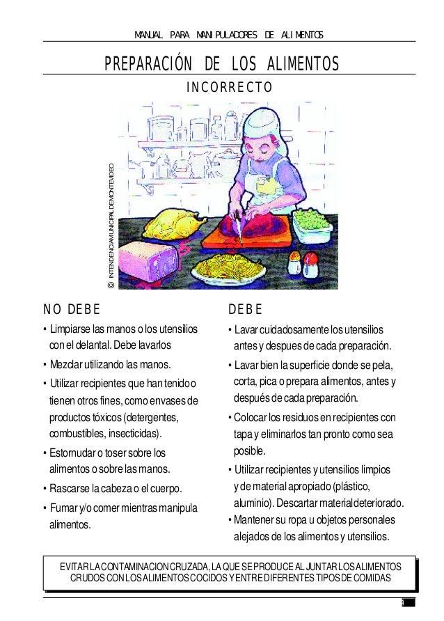 manual de manipulacion de alimentos pdf