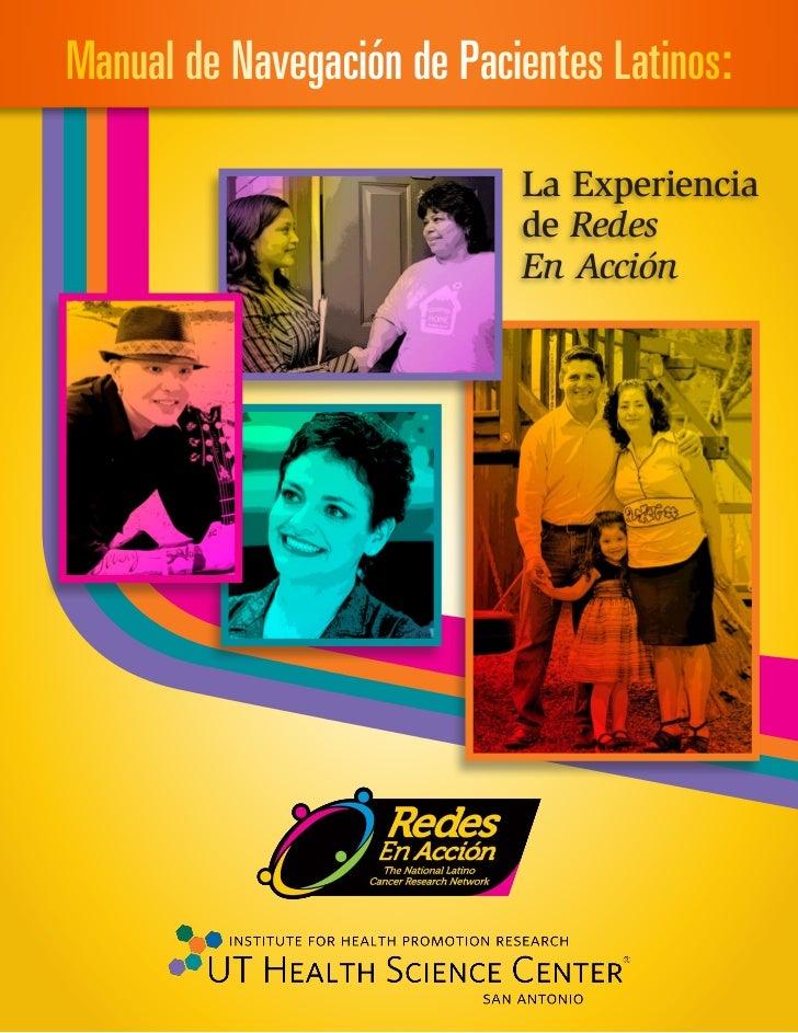 Manual de Navegación de Pacientes Latinos:                            La Experiencia                            de Redes  ...