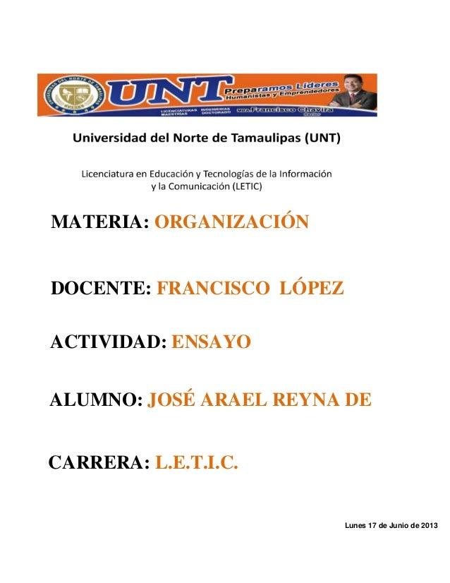 Manual de organización de la escuela secundaria