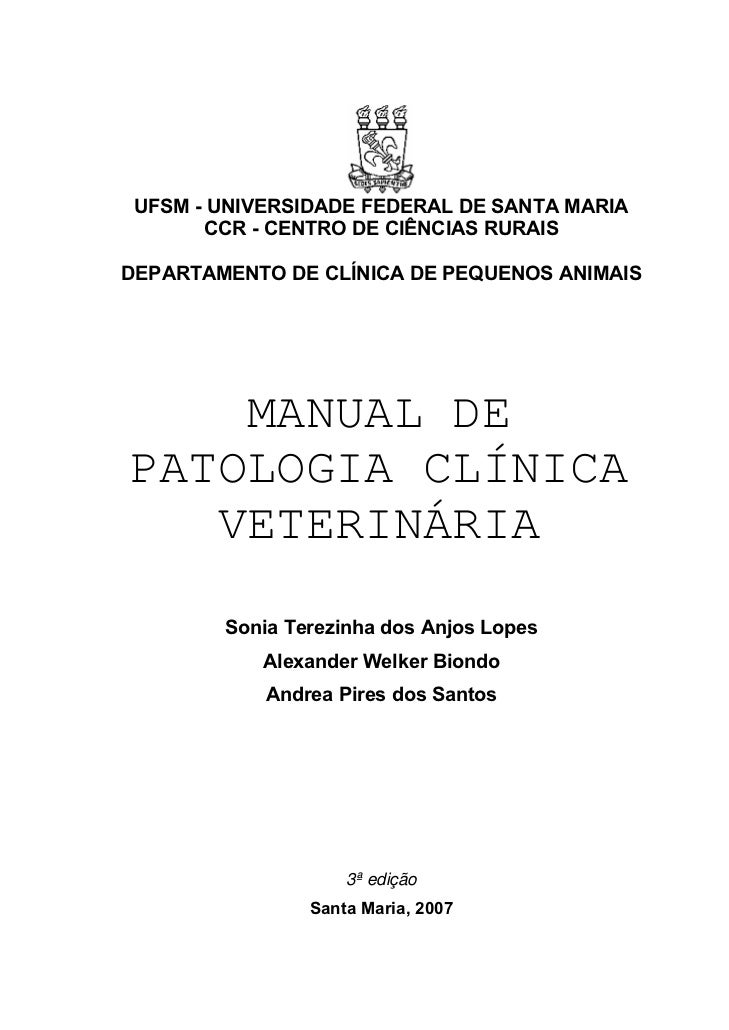 Manual de patologia clinica for Manual de acuicultura pdf