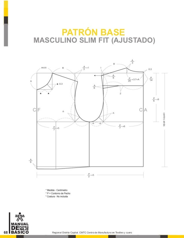 Manual de patronaje cmt sena for El gran manual del cocinero pdf