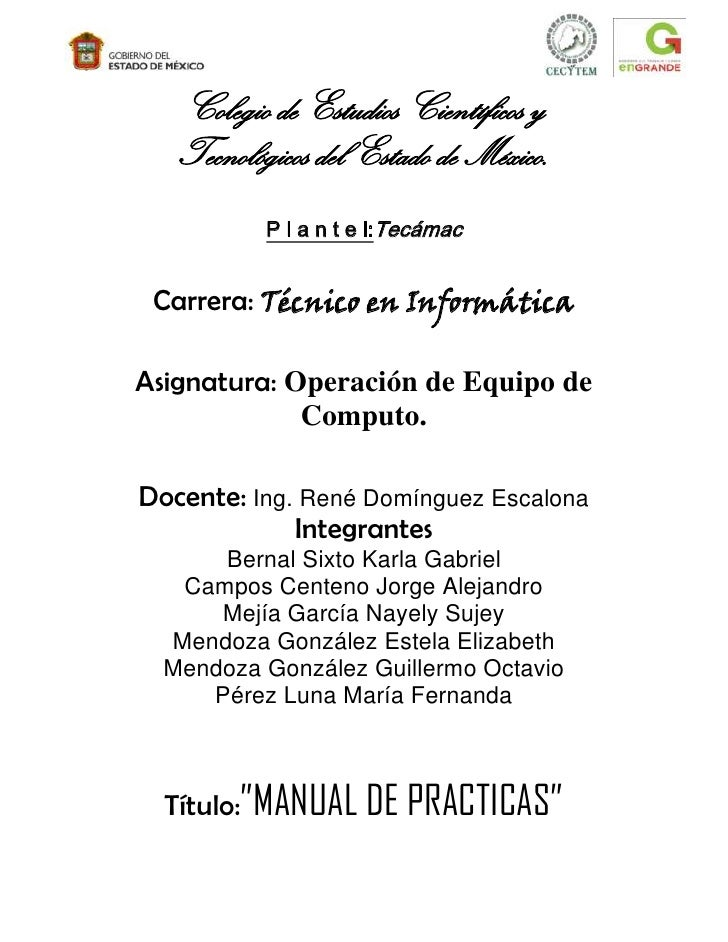 Manual de practicas terminadas