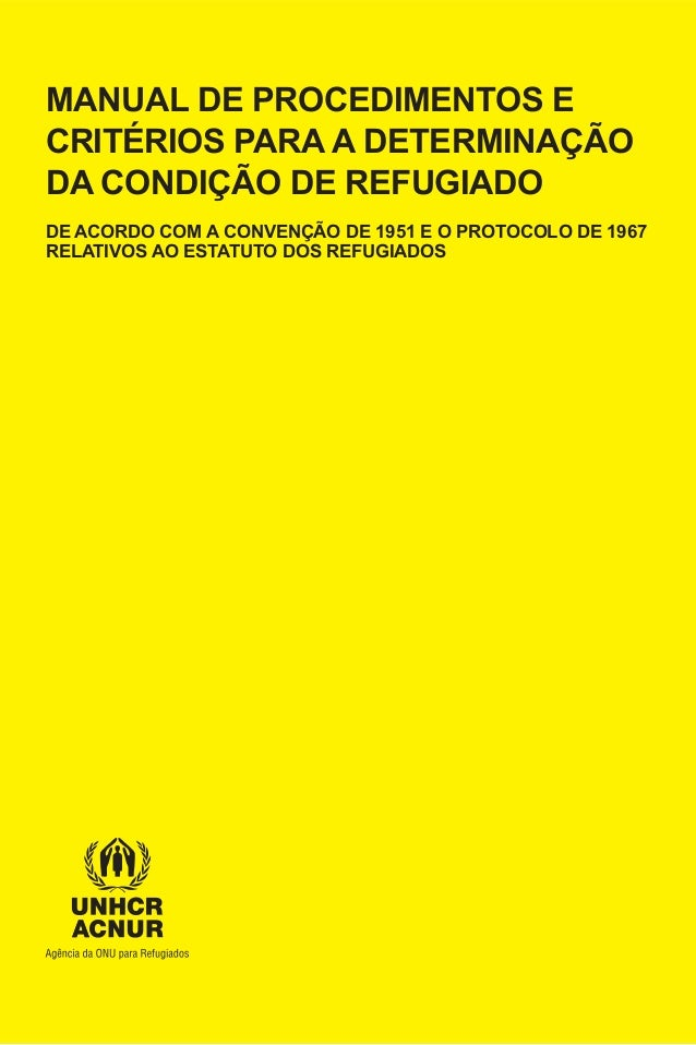 Manual de procedimentos_e_criterios_para_a_determinacao_da_condicao_de_refugiado