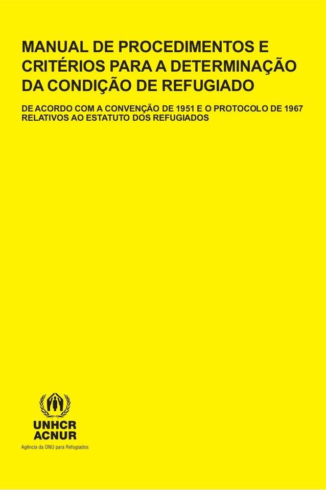 Manual de procedimentos_e_criterios_para_a_determinacao_da_condicao_de_refugiado