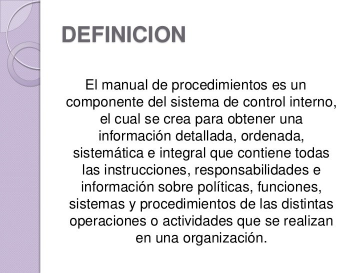 Manual de procedimientos for Manual de funciones y procedimientos de un restaurante