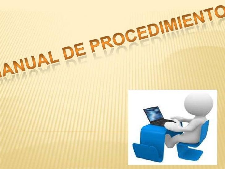 Manual de procedimientos huski