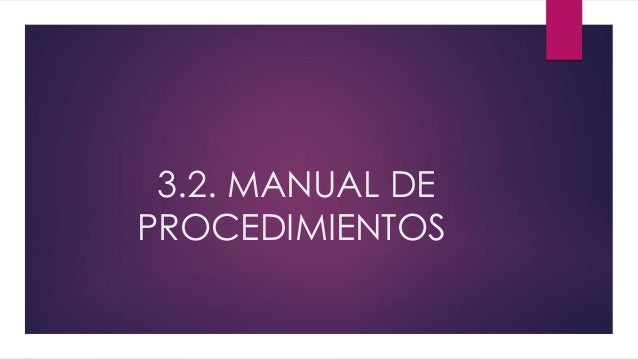 Manual de procedimientos for Manual de procedimientos de cocina