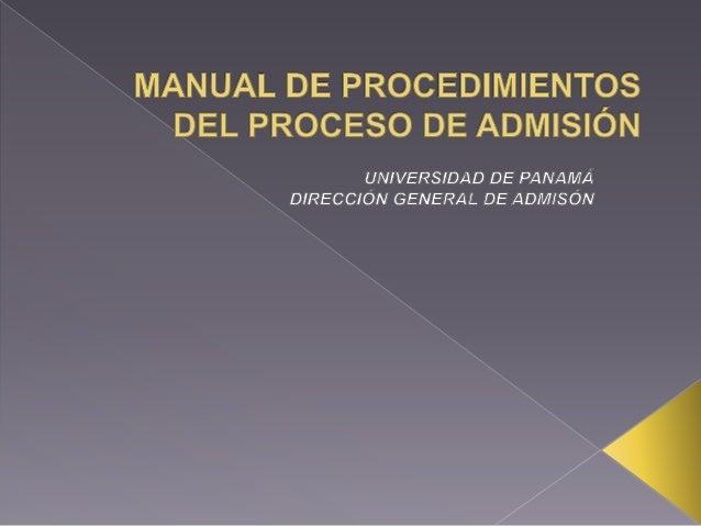 • En el año 1984 se crea la Oficina de  Administración de Preingreso mediante el  acuerdo de Consejo Académico No. 37-84  ...