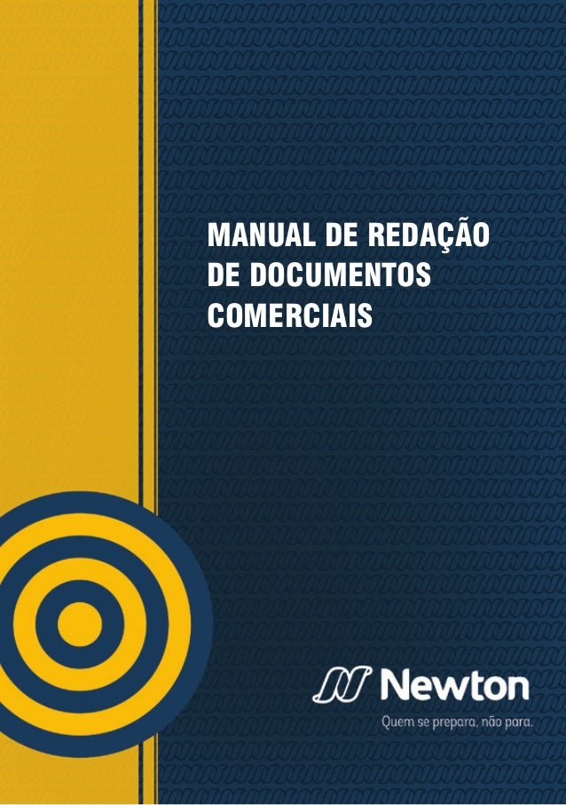 MANUAL DE REDAÇÃO DE DOCUMENTOS COMERCIAIS