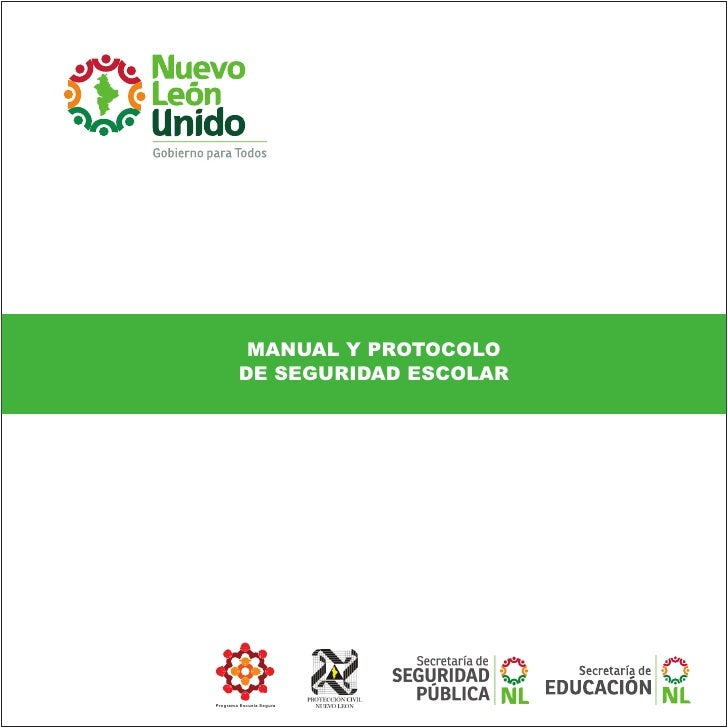 Manual de Seguridad Escolar de la SENL